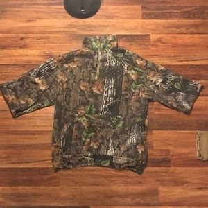 Camo Outdoors Jersey Jacket Pullover